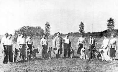 Gründungsmitglieder 1955