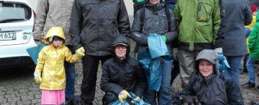 Unsere Helfer beim Zwingenberger Frühjahrsputz 2017